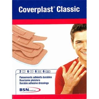 Image for Coverplast Classic Assorted - 20 Pack from Amcal
