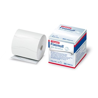 Image for Leukoplast Fixomull Skin Sensitive - 5cm x 5m from Amcal