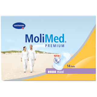 Image for MoliMed Premium Maxi Pads - 14 Pack from Amcal