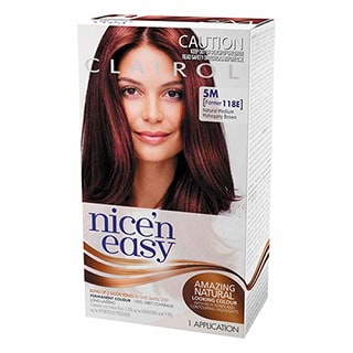 Image for Clairol Nice 'n Easy 118E Mahogany Brown from Amcal