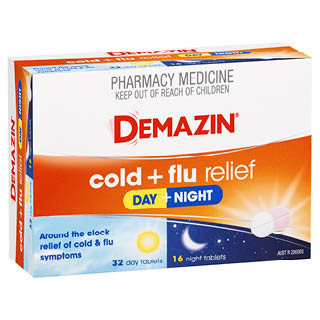 Image for Demazin Cold & Flu Relief Day & Night - 48 Tablets from Amcal