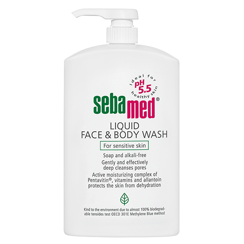 Sebamed Liquid Face Body Wash Amcal