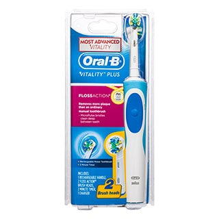 Image for Oral-B Vitality Plus Floss Action Electric Toothbrush from Amcal