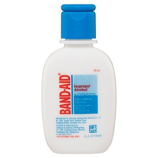 Image for Band-Aid Isopropyl Alcohol with Moisturizer 60percent Cleansing Soluti from Amcal