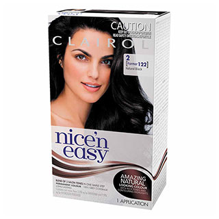 Image for Clairol Nice'n Easy - 122 Black from Amcal