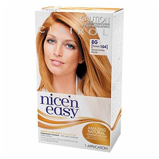 Image for Clairol Nice'n Easy - 104 Natural Golden Blonde from Amcal