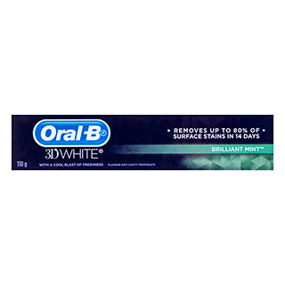 Image for Oral-B 3D White Toothpaste Brilliant Mint - 130g from Amcal