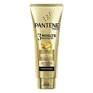 Image for Pantene Pro-V 3 Minute Miracle Conditioner Daily Moisture Renewal 180mL from Amcal