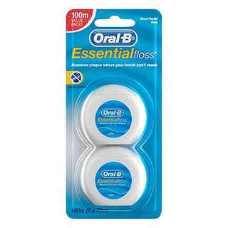 Image for Oral-B Essential Floss 50m - 2 Pack from Amcal
