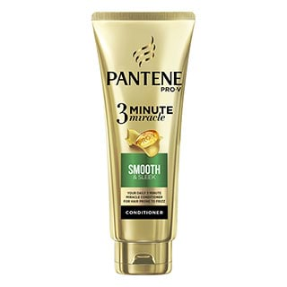 Image for Pantene Pro-V 3 Minute Miracle Smooth & Sleek Conditioner - 180mL from Amcal