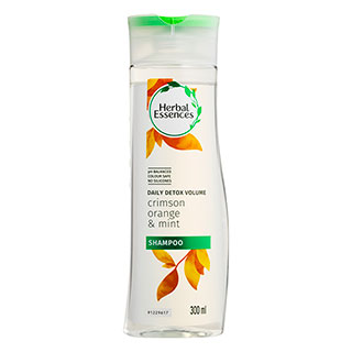 Image for Herbal Essences Daily Detox Volume Shampoo Crimson Orange & Mint - 300mL from Amcal