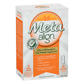 Image for Meta Align Daily IBS Probiotic Capsules 42 Pack from Amcal