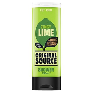 Image for Original Source Zingy Lime Shower Gel - 250mL from Amcal