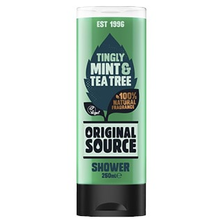 Image for Original Source Tingly Mint & Tea Tree Shower Gel - 250mL from Amcal