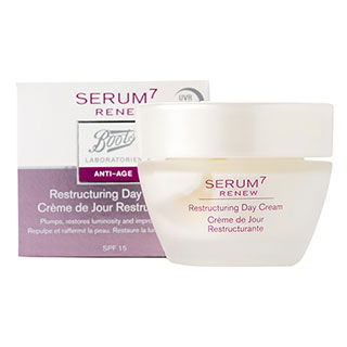 Image for Boots Laboratories Serum 7 Renew Restructuring Day Cream - 50ml from Amcal
