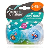Mums know there's nothing more wonderful than a calm, content baby so Closer To Nature has developed a new range of soothers that are approved by babies.