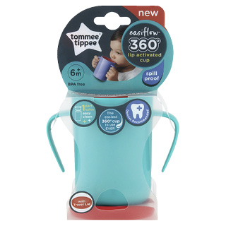 Image for Tommee Tippee 360 Trainer Cup 200mL - Teal from Amcal
