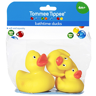 Image for Tommee Tippee Bath Duck - 3 Pack from Amcal