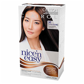 Image for Clairol Nice'n Easy - 117D Natural Medium Cool Brown from Amcal