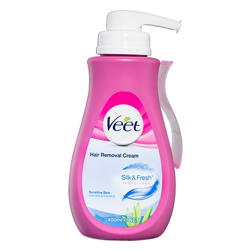 Image for Veet Hair Removal Cream Sensitive Skin - 400mL from Amcal