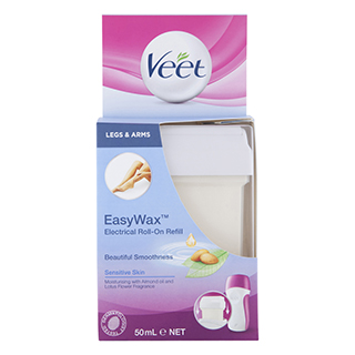 Image for Veet Easy Wax Electrical Roll-On Refill Sensitive Skin - 50mL from Amcal