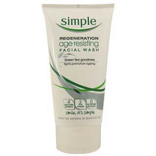 Image for Simple Regeneration Facial Wash - 150mL from Amcal