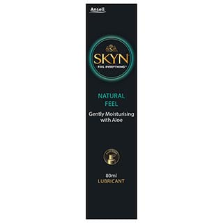 Image for Ansell Skyn Lubricant Natural Feel - 80ml from Amcal