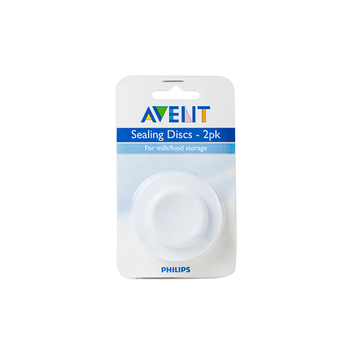 NEW Avent Baby Feeding Sealing Disc Silicone Sealing Disc 2 Pack