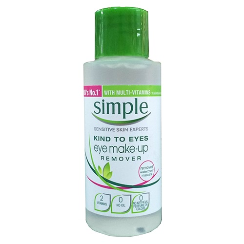 Image for Simple Conditioning Eye Makeup Remover - 50ml from Amcal