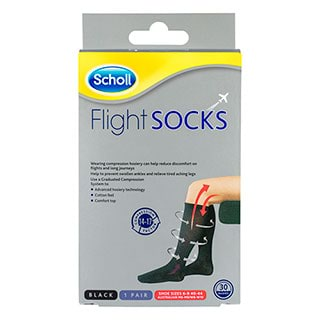 Image for Scholl Flight Sock Unisex 6-9 from Amcal