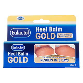 Image for Scholl Eulactol Heel Balm Gold - 60mL from Amcal