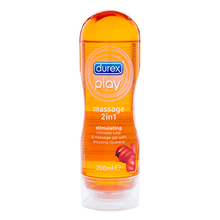 Image for Durex Play Massage 2 in 1 Stimulating - 200mL from Amcal