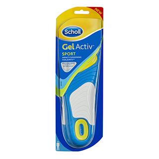 Image for Scholl Gel Activ Insole Sport Mens from Amcal