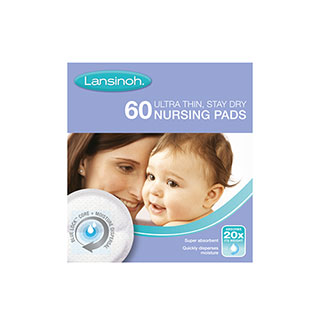 Image for Lansinoh Nursing Pads - 60 Pack from Amcal