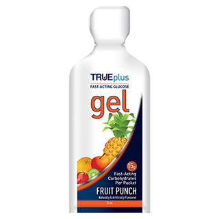 Image for TRUEplus Glucose Gel Fruit Punch - 15g from Amcal