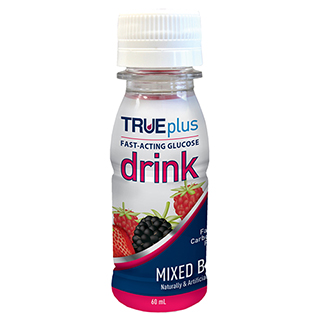 Image for TRUEplus Glucose Liquid Mixed Berry - 60ml from Amcal