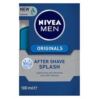nivea men after shave splash 100ml amcal