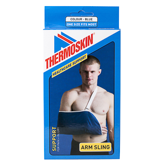 Image for Thermoskin Arm Sling Blue - One Size from Amcal