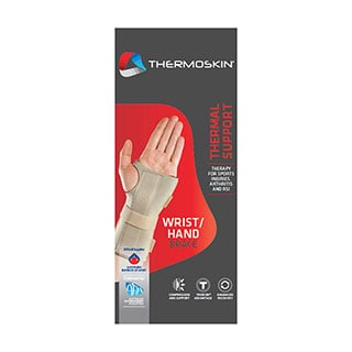 Image for Thermoskin Wrist Hand Brace Left Medium from Amcal
