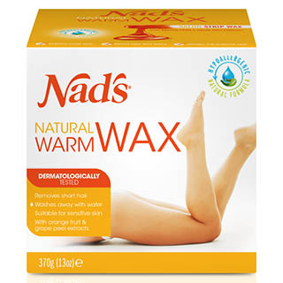 Image for Nad's Natural Warm Wax - 370g from Amcal