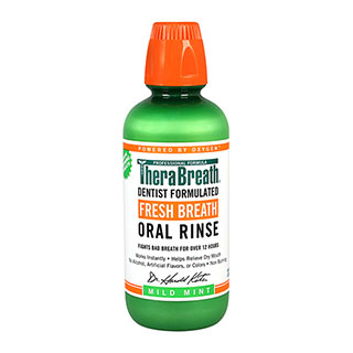 Image for Therabreath Oral Rinse Mild Mint - 473mL from Amcal