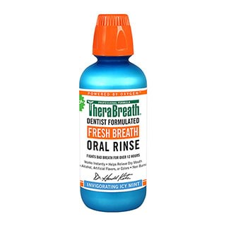 Image for Therabreath Oral Rinse Icy Mint - 473mL from Amcal