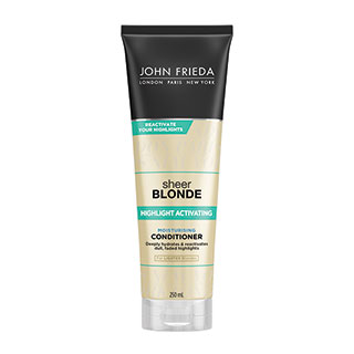 Image for John Frieda Sheer Blonde Highlight Activating Conditioner - 250ml from Amcal