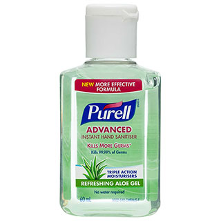 Image for Purell Advanced Hand Sanitiser - 60mL from Amcal
