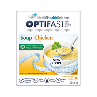 Image for Optifast VLCD Chicken Flavour Soup - 8 Pack from Amcal