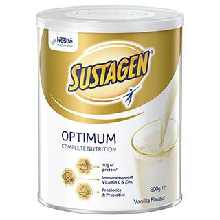 Image for Sustagen Optimum - 800g from Amcal