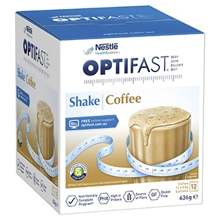 Image for Optifast VLCD Coffee Shake - 12 x 53g Sachets from Amcal