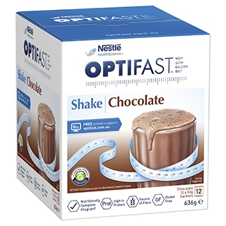 Image for Optifast VLCD Chocolate Shake - 12 x 53g Sachets from Amcal