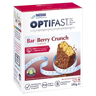 Image for Optifast VLCD Bars Berry Crunch - 6 Pack from Amcal
