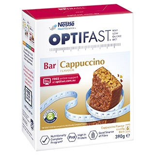 Image for Optifast VLCD Bars Cappuccino - 6 Pack from Amcal